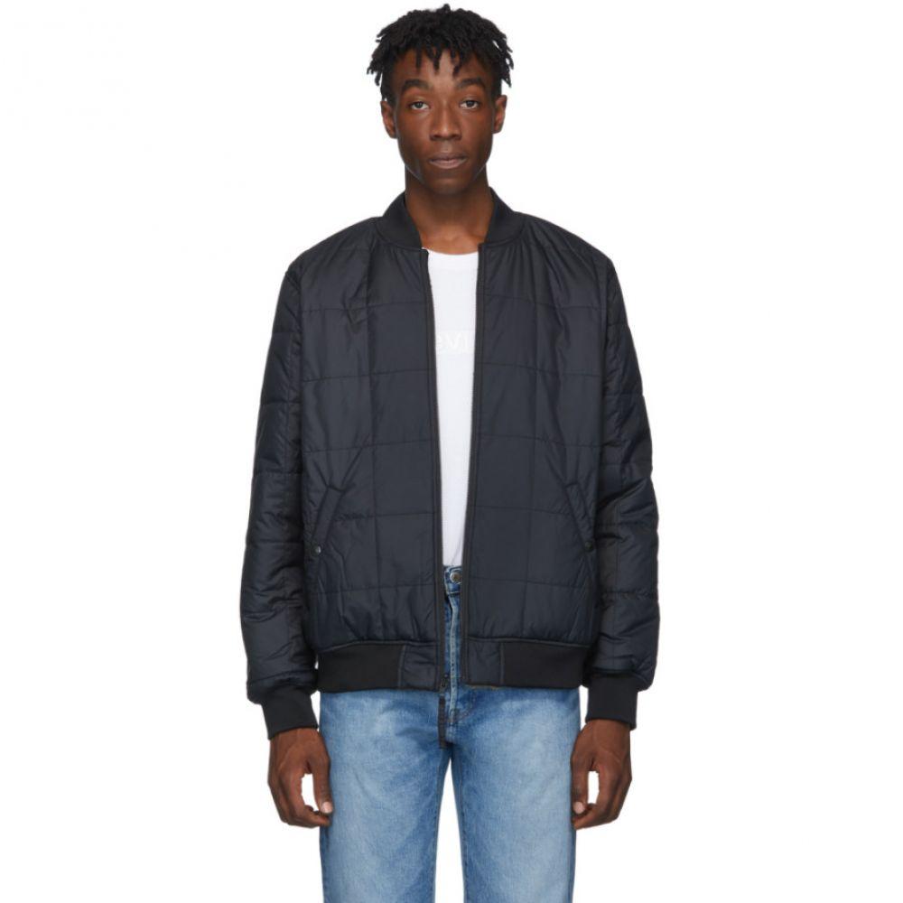 リーバイス Levi's メンズ ブルゾン ミリタリージャケット アウター【reversible black sherpa bomber jacket】