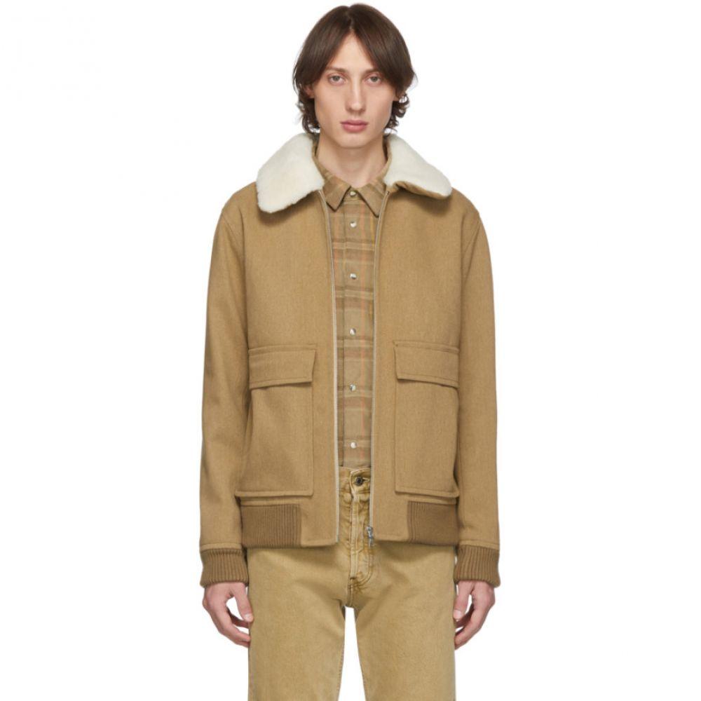 アーペーセー A.P.C. メンズ ジャケット アウター【brown bronze jacket】