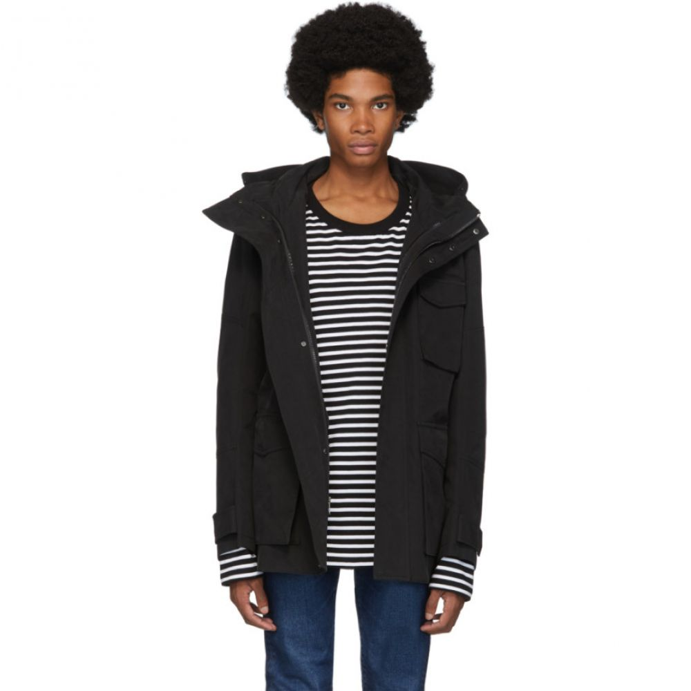 49Winters メンズ ジャケット アウター【black antarctica utility jacket】