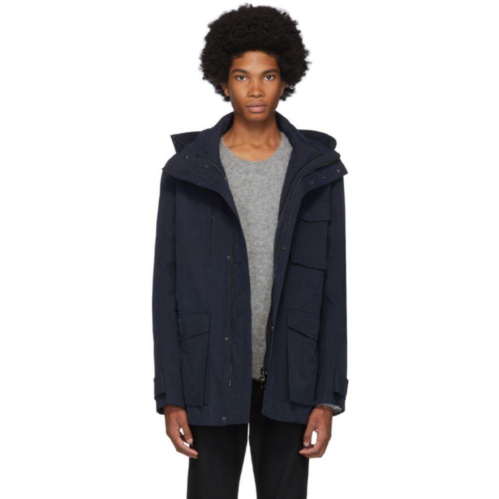 49Winters メンズ ジャケット アウター【navy antarctica utility jacket】