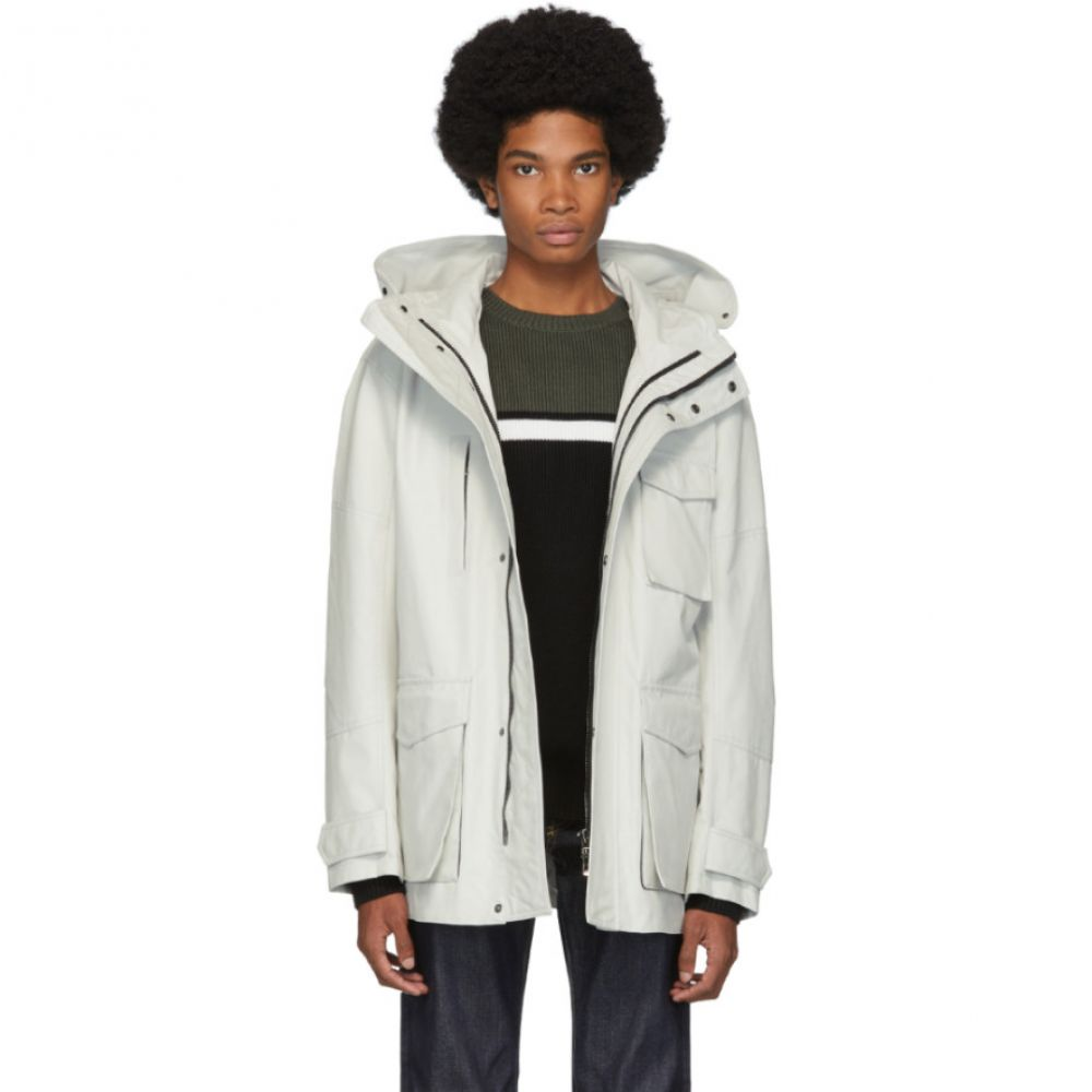 49Winters メンズ ジャケット アウター【off-white antarctica utility jacket】