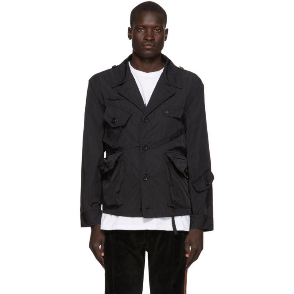サウス2 ウエスト8 South2 West8 メンズ ジャケット シャツジャケット アウター【black gabardine tenkara shirt jacket】