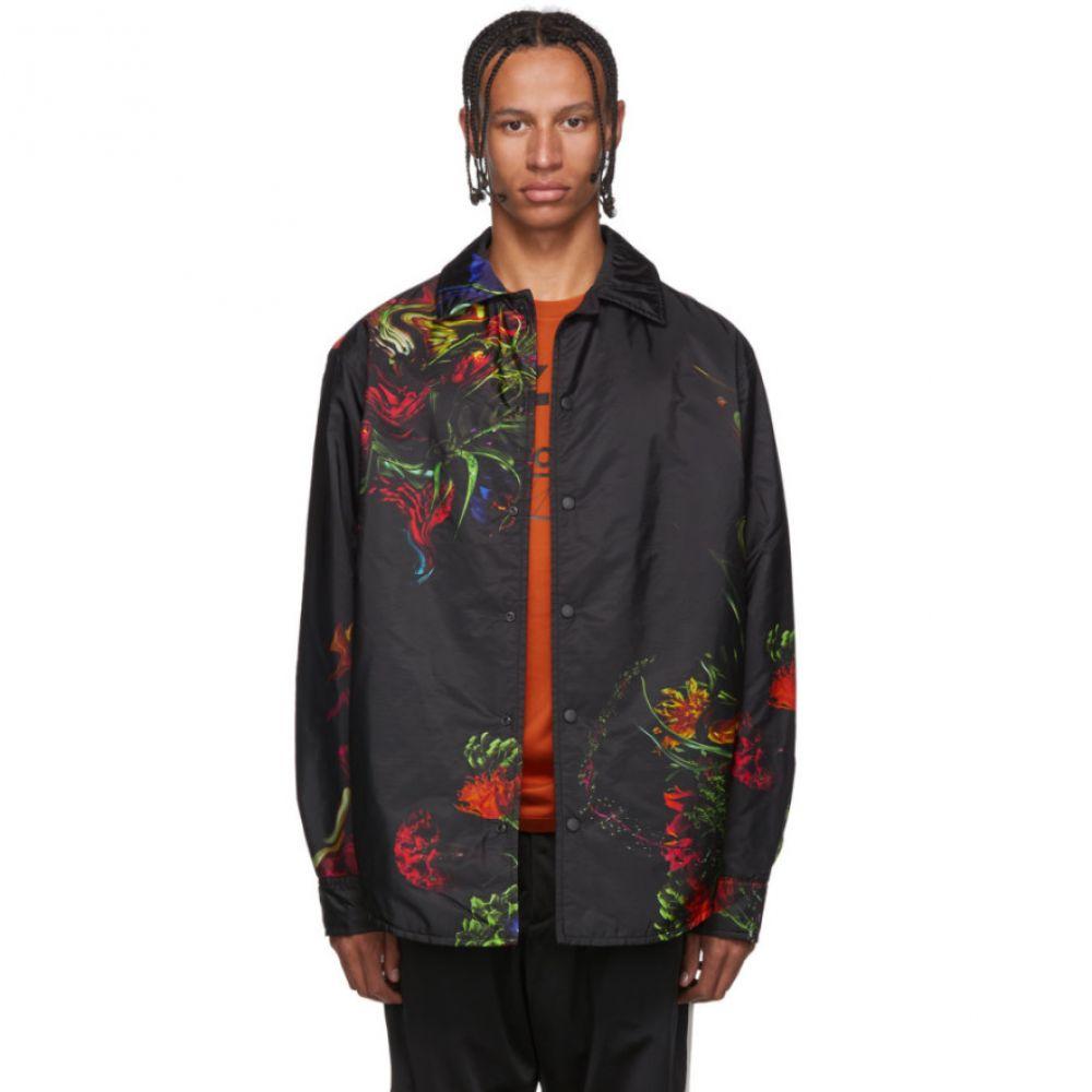 ワイスリー Y-3 メンズ ジャケット アウター【black flower jacket】