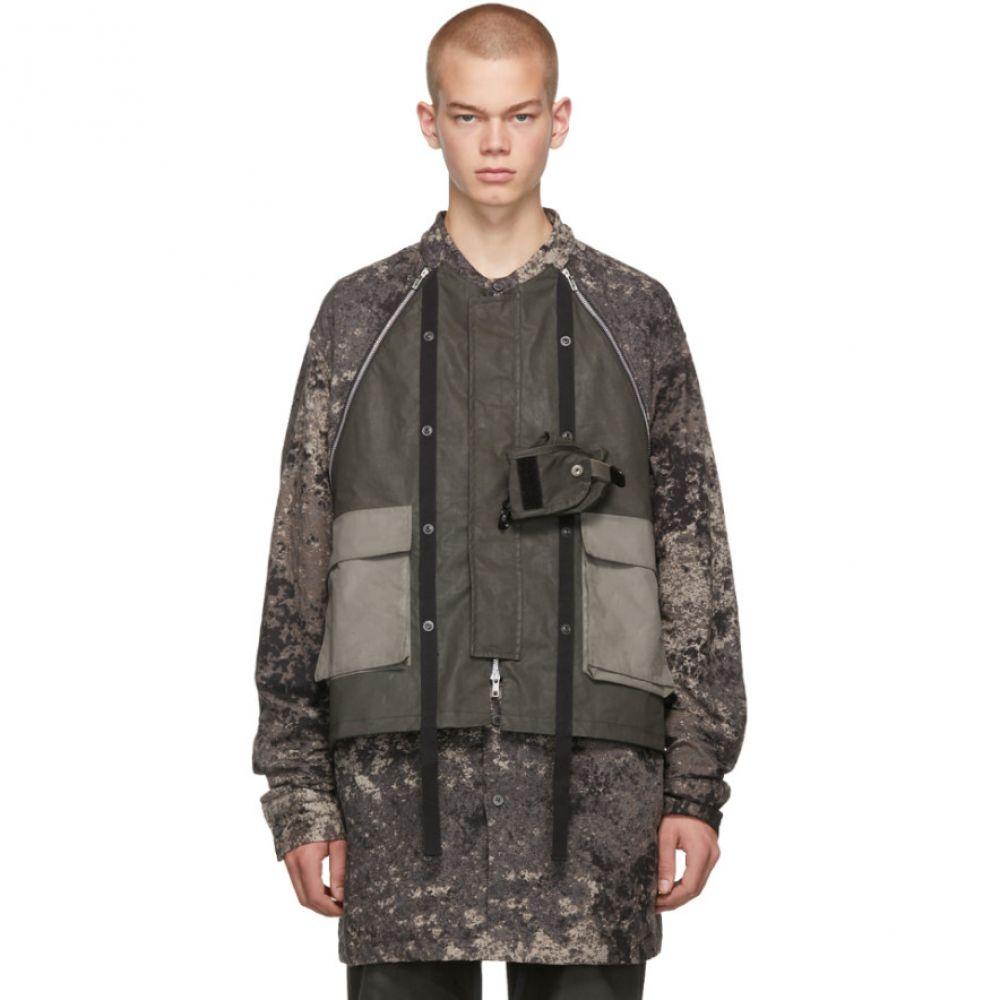 ブラック マール Blackmerle メンズ ジャケット アウター【taupe camo jacket】