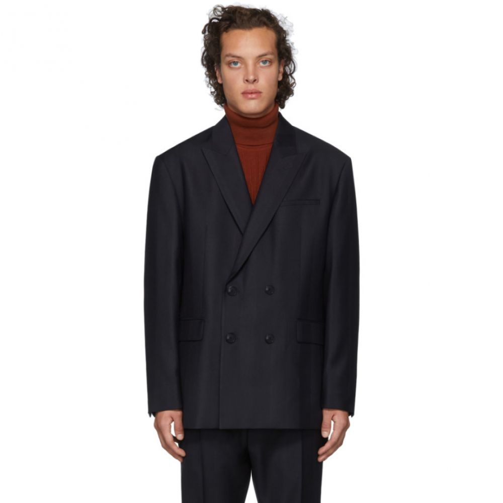 ヒューゴ ボス Hugo メンズ スーツ・ジャケット アウター【navy wool blazer】