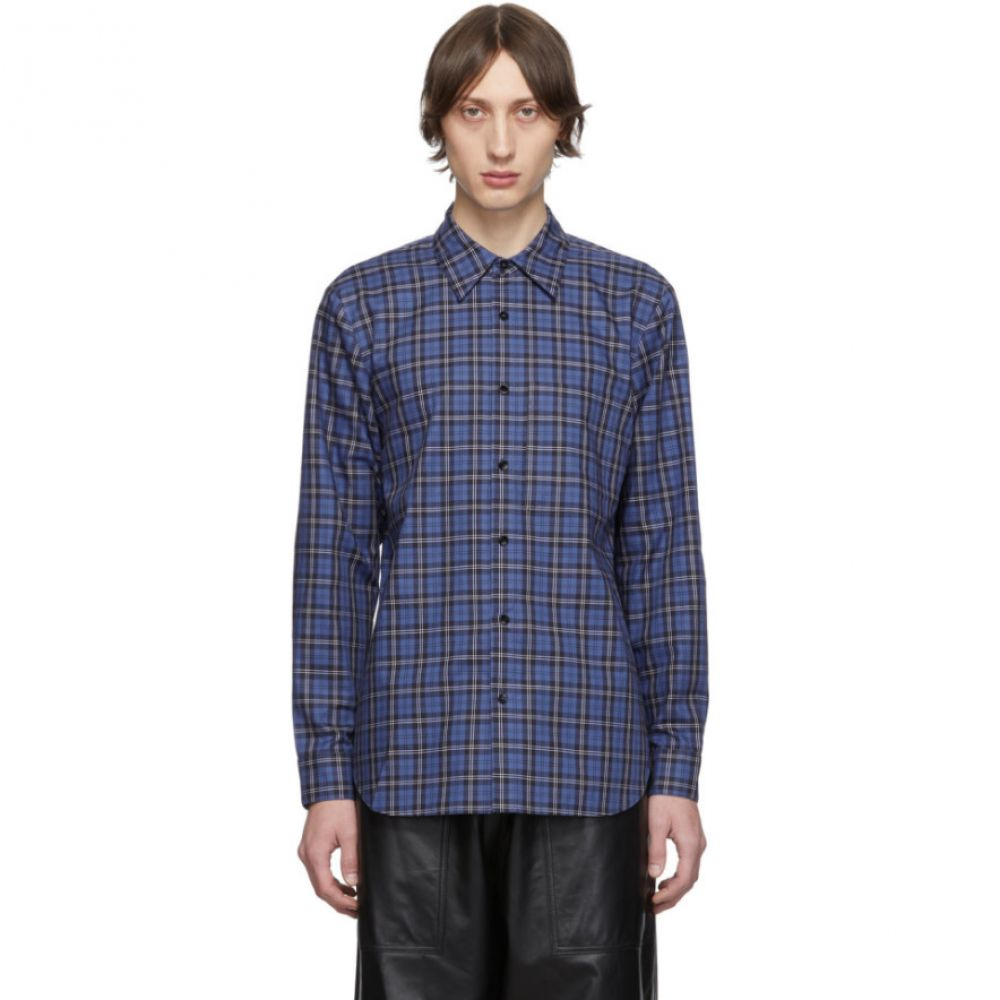 ティビ Tibi メンズ シャツ トップス【ssense exclusive blue & multicolor check kingston shirt】