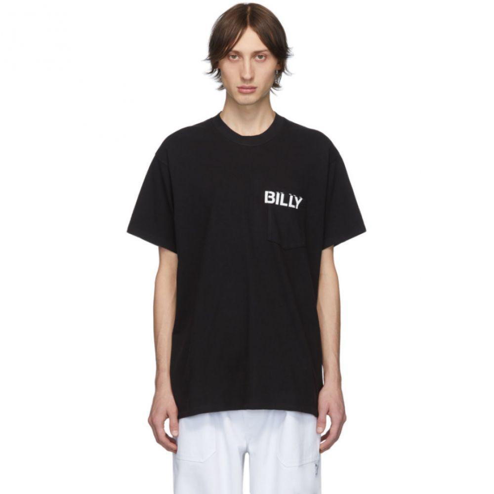 ビリー Billy メンズ Tシャツ ポケット トップス【black logo pocket cowboys t-shirt】