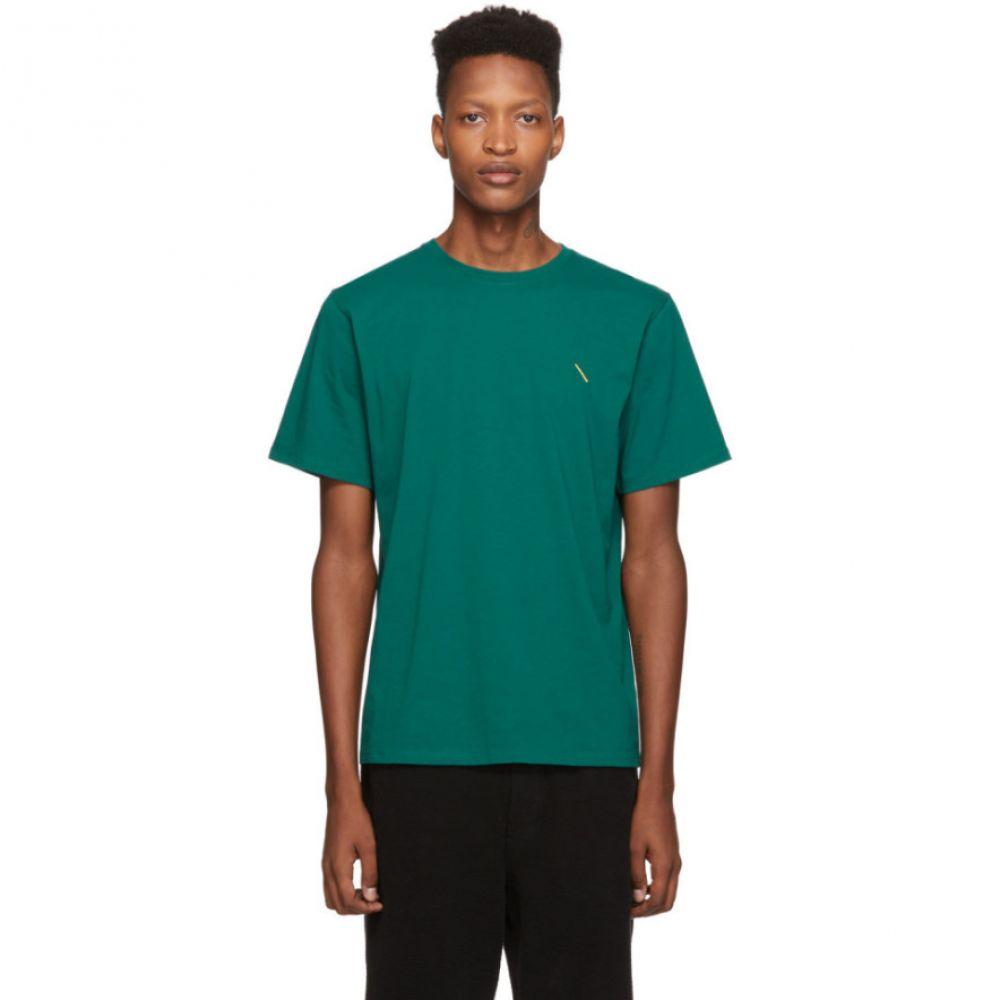サタデーニューヨーク Saturdays NYC メンズ Tシャツ トップス【green gotham slash t-shirt】