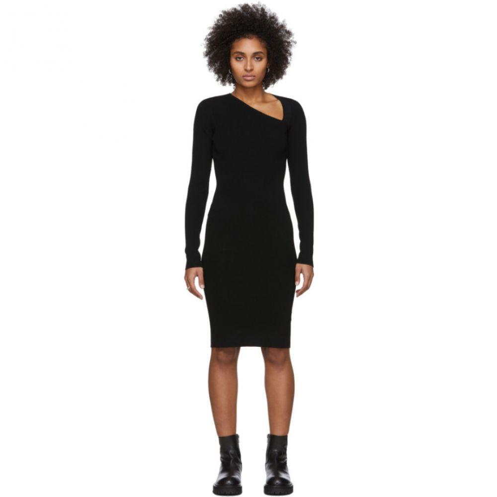 ヘルムート ラング Helmut Lang レディース ワンピース ラグラン ワンピース・ドレス【Black Raglan Dress】