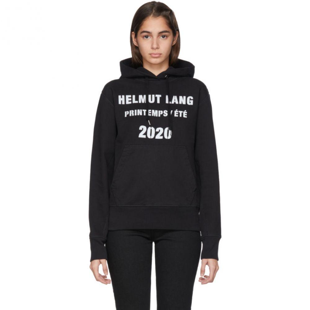 ヘルムート ラング Helmut Lang レディース パーカー トップス【Black Marc Hundley Edition Standard Hoodie】