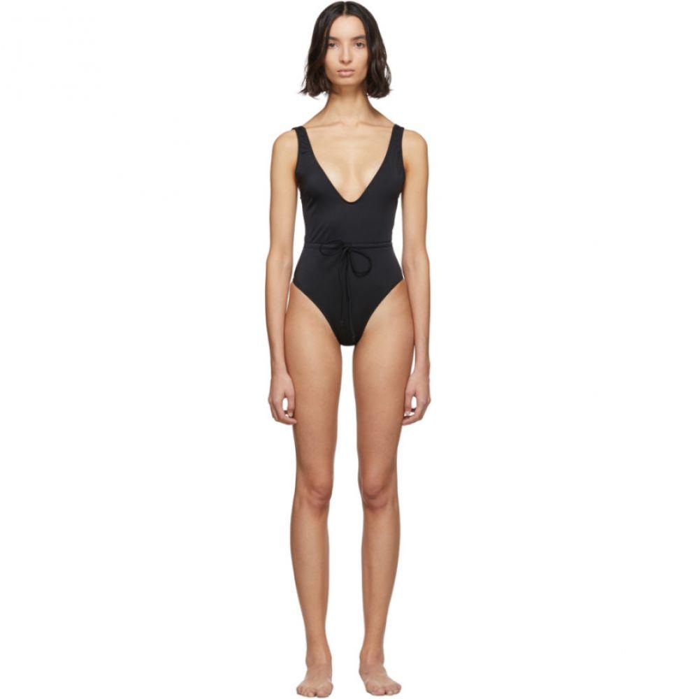 ソリッド&ストライプ Solid & Striped レディース ワンピース 水着・ビーチウェア【Black 'The Michelle' One-Piece Swimsuit】