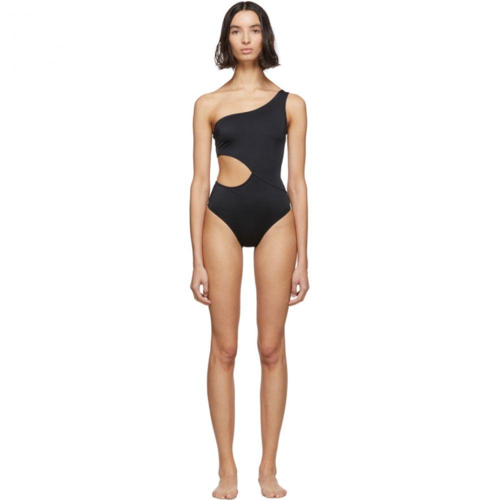 ソリッド&ストライプ Solid & Striped レディース ワンピース 水着・ビーチウェア【Black 'The Claudia' One-Piece Swimsuit】