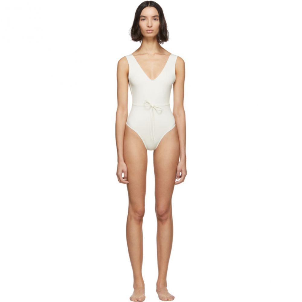 ソリッド&ストライプ Solid & Striped レディース ワンピース 水着・ビーチウェア【Off-White 'The Michelle' One-Piece Swimsuit】