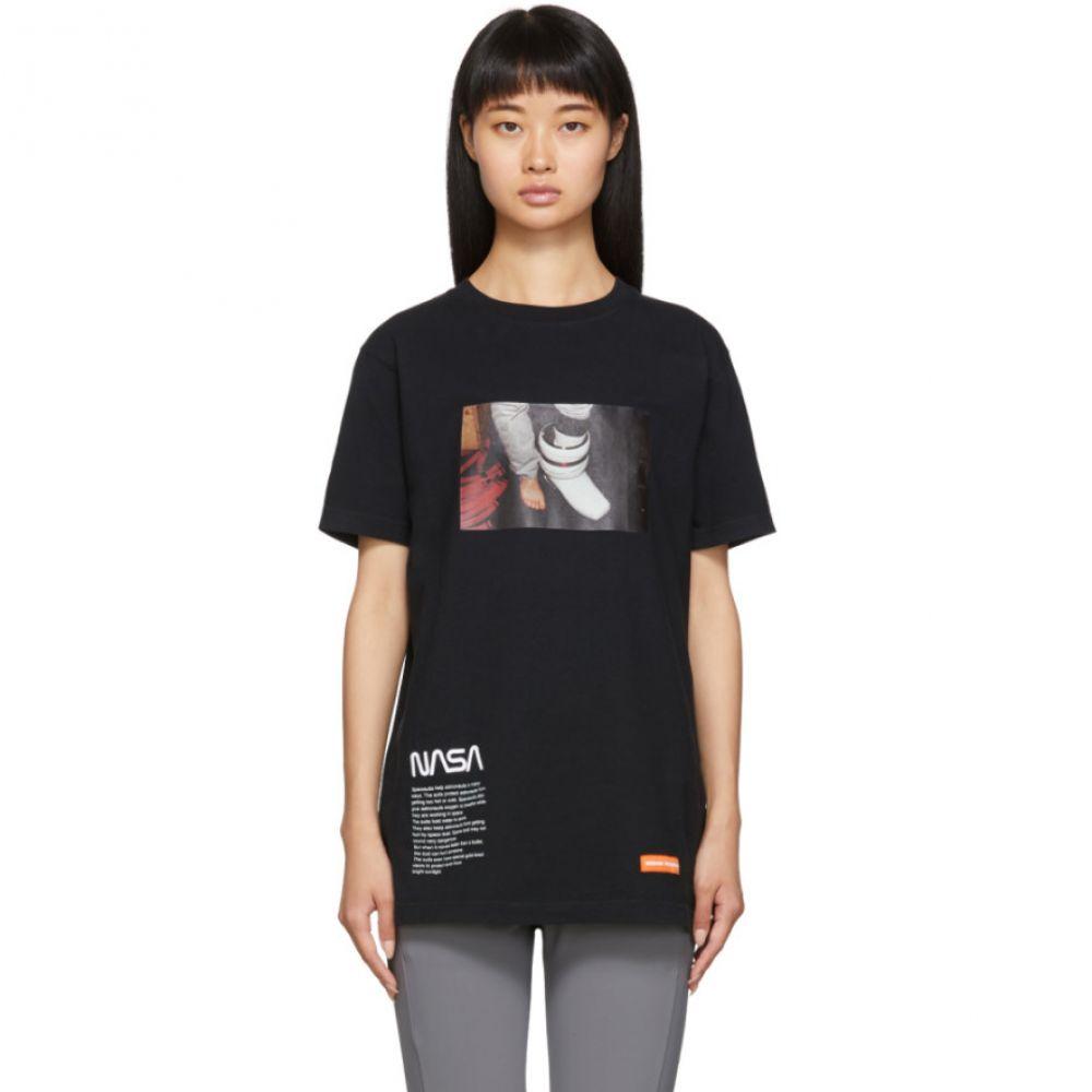 ヘロン プレストン Heron Preston レディース Tシャツ トップス【Black Photo T-Shirt】