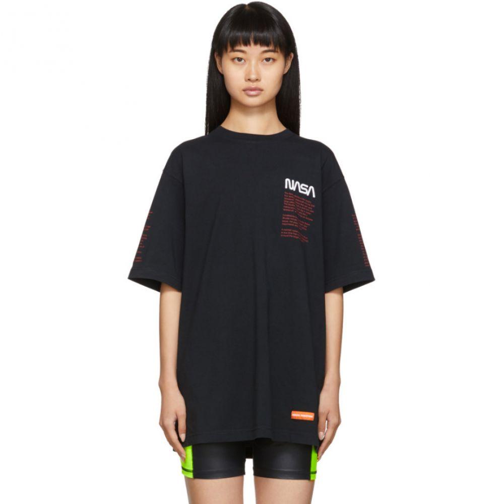 ヘロン プレストン Heron Preston レディース Tシャツ トップス【Black Facts T-Shirt】