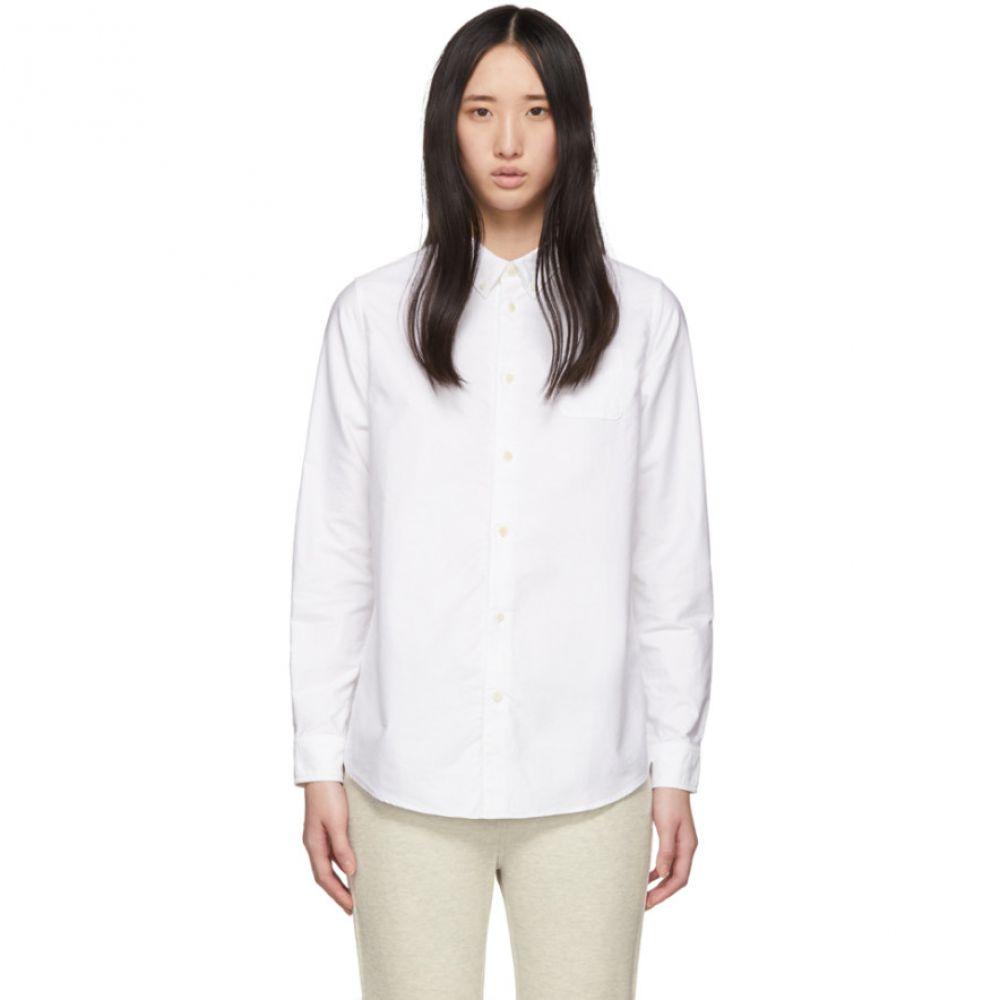 ビズビム Visvim レディース ブラウス・シャツ トップス【White Albacore Shirt】