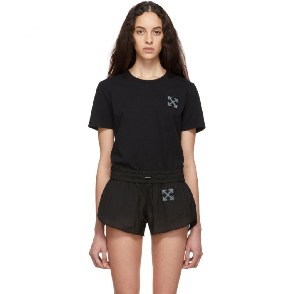 オフホワイト Off-White レディース Tシャツ トップス【SSENSE Exclusive Black