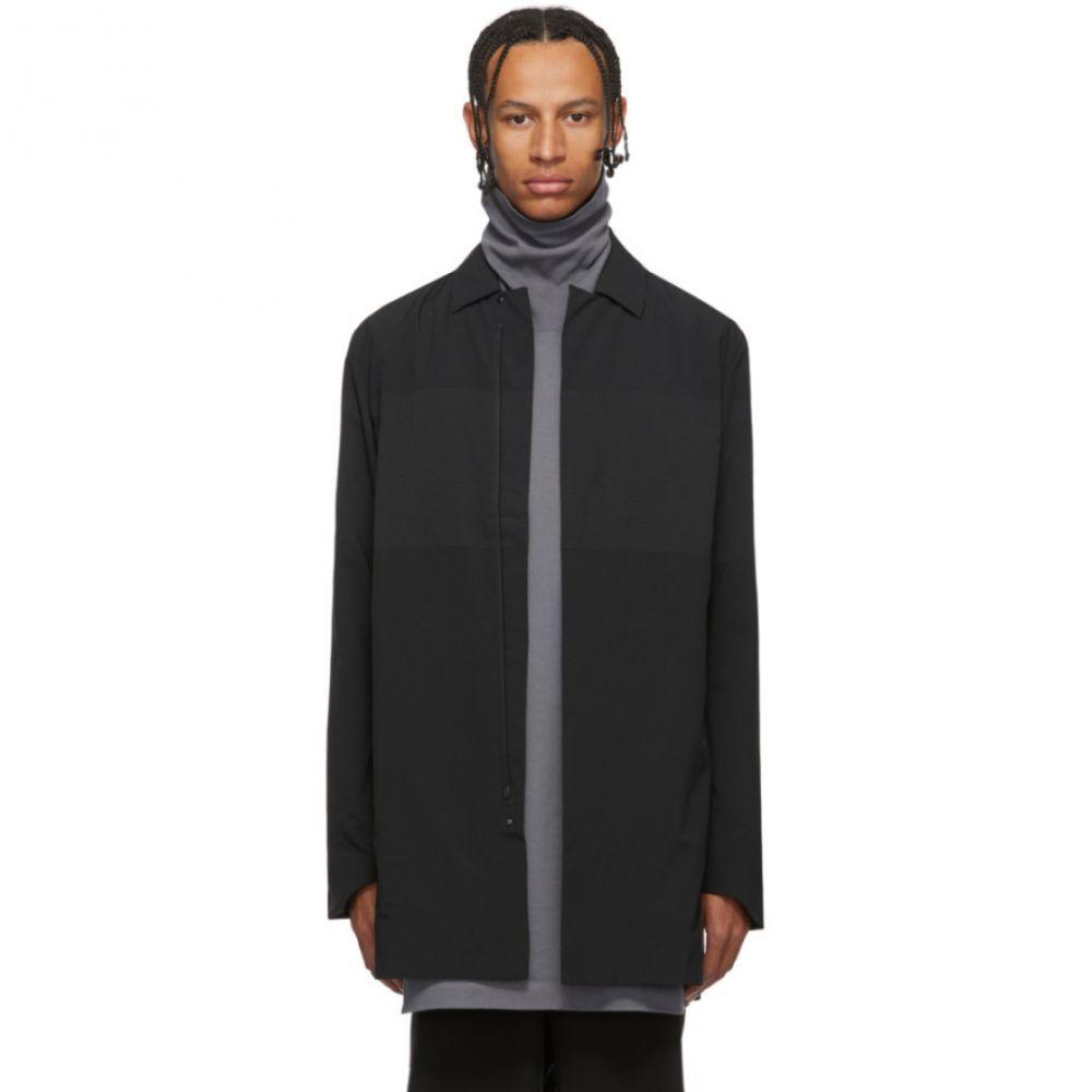 デサント オルテライン Descente Allterrain メンズ コート アウター【Black Schematech Air Bal Coat】