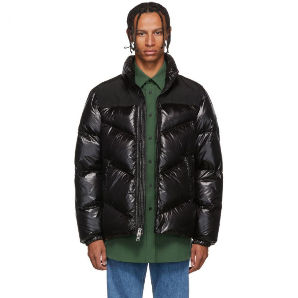 ウールリッチ Woolrich メンズ ダウン・中綿ジャケット アウター【Black Down Logo Arctic Jacket】