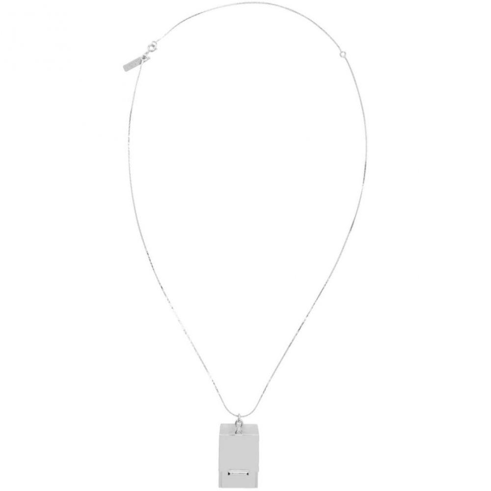 マルニ Marni レディース ネックレス ジュエリー・アクセサリー【Silver Box Necklace】