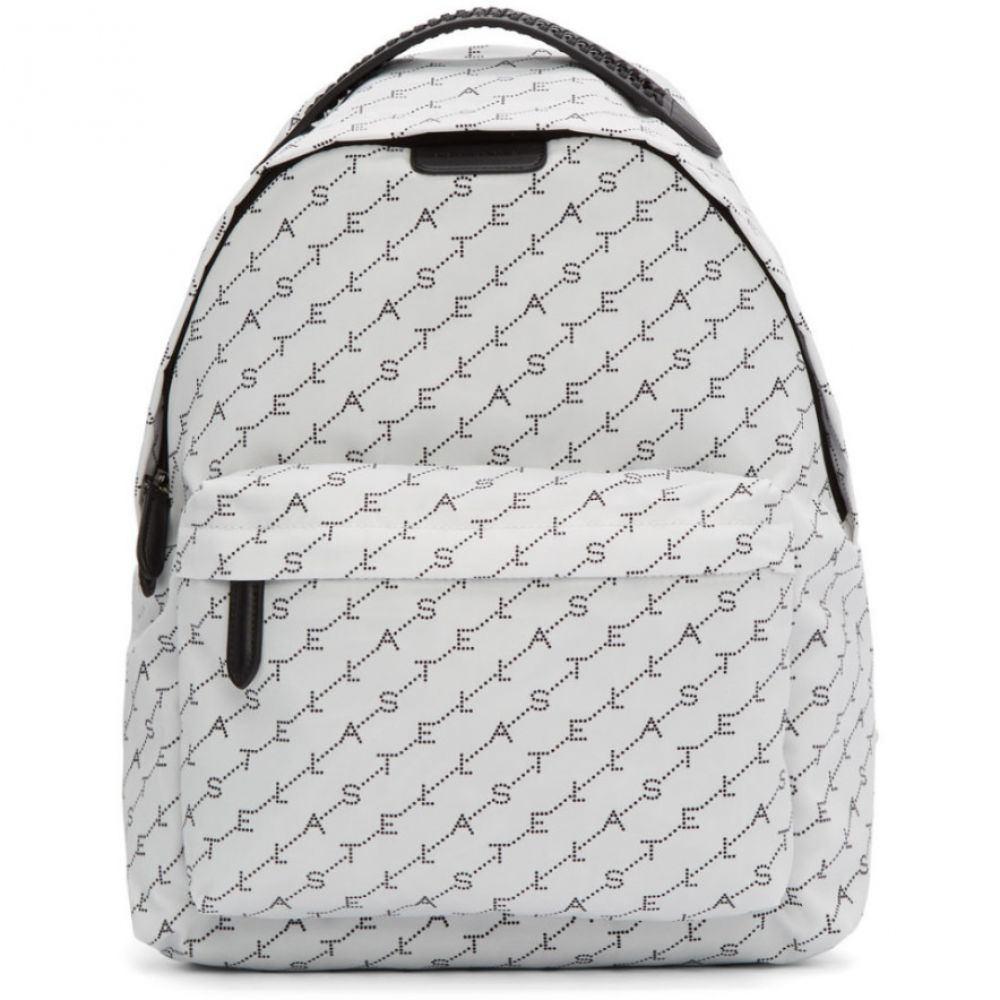 ステラ マッカートニー Stella McCartney レディース バックパック・リュック バッグ【White Monogram Falabella Backpack】