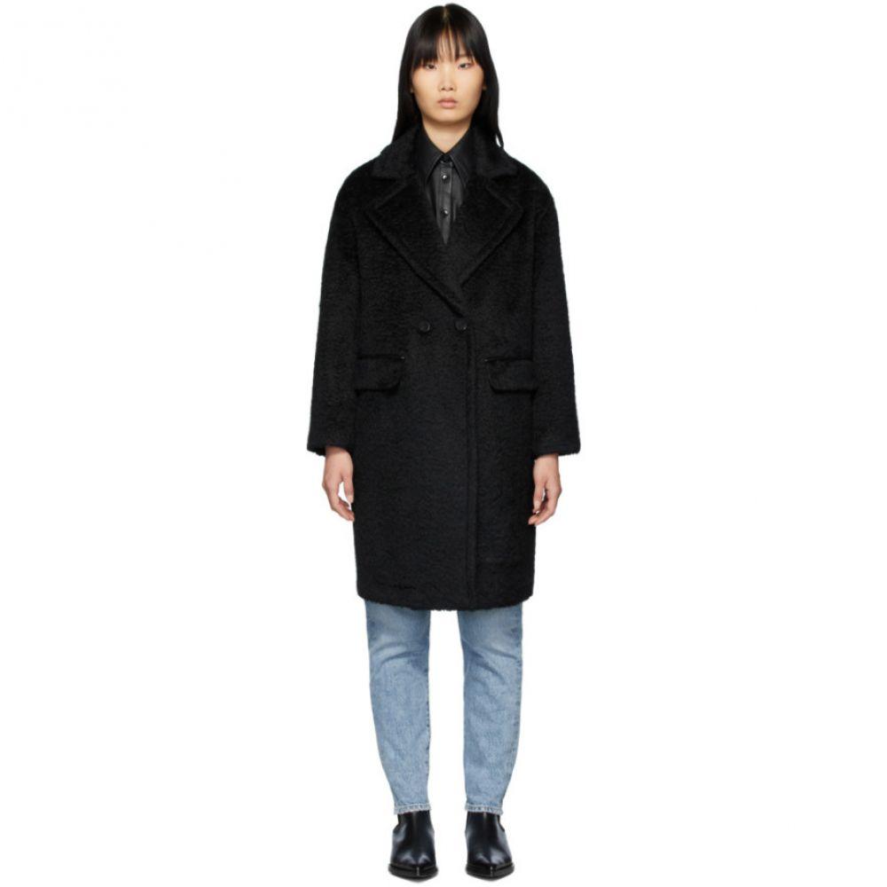 マッカージュ Mackage レディース コート ロングコート アウター【Black Alpaca & Wool Eve Long Coat】