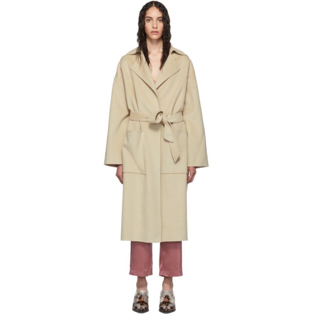 ナヌシュカ Nanushka レディース コート アウター【Beige Wool Alamo Coat】