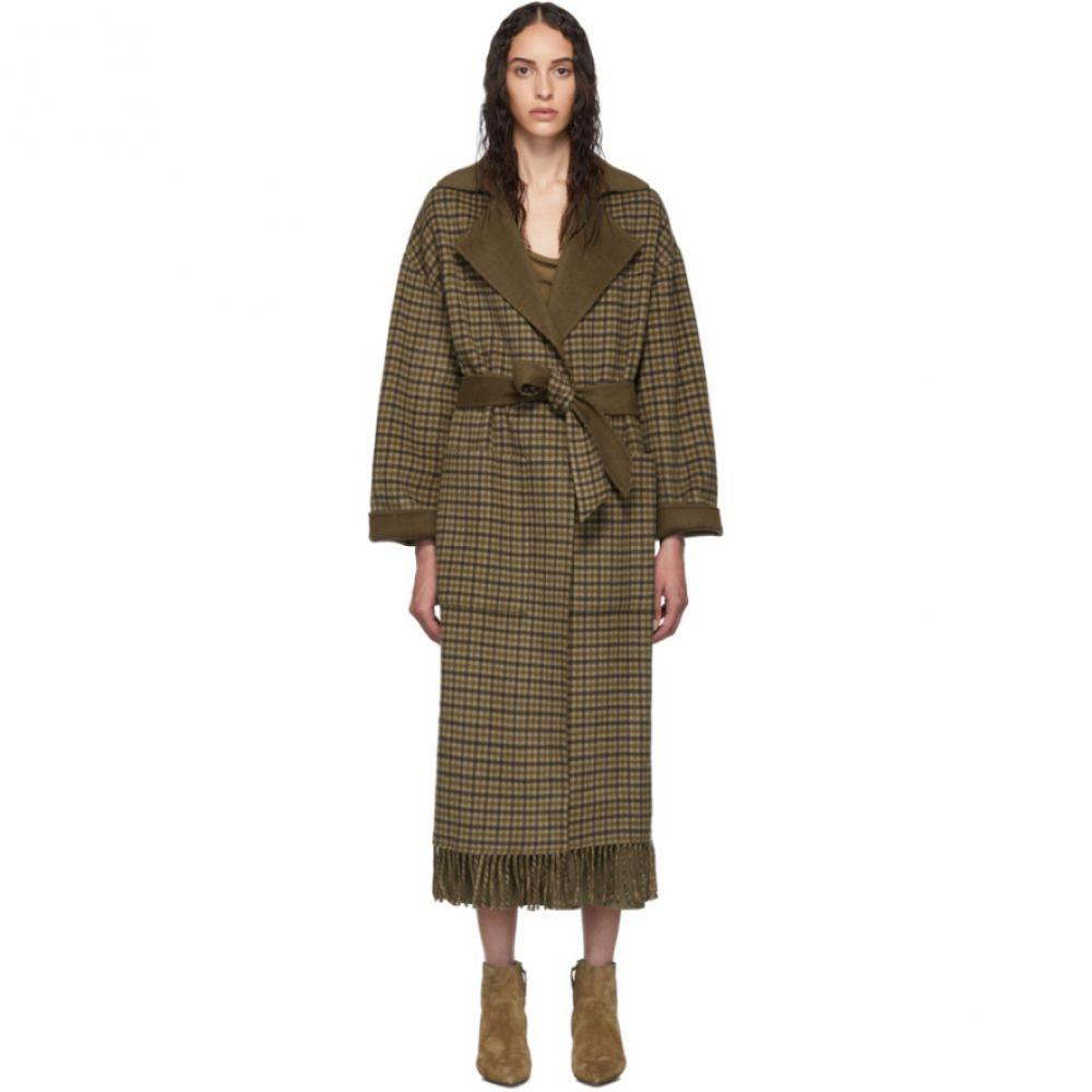 ナヌシュカ Nanushka レディース コート アウター【Brown Wool Alamo Coat】