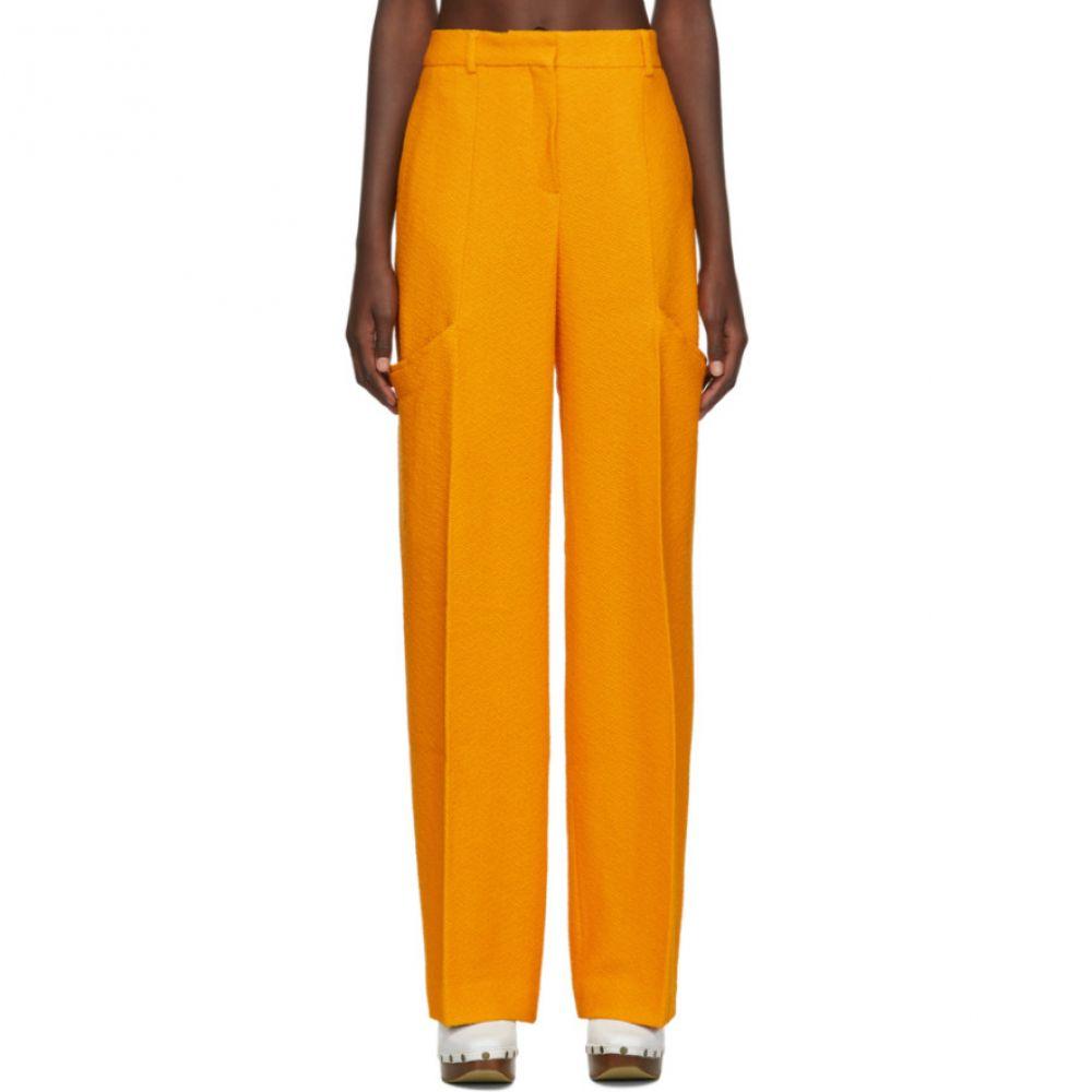 ジャックムス Jacquemus レディース ボトムス・パンツ 【Yellow 'Le Pantalon Moyo' Trousers】