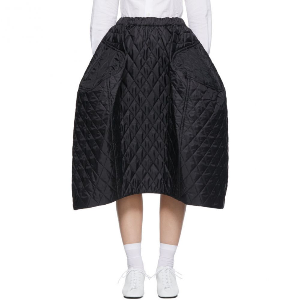 コム デ ギャルソン Comme des Garcons レディース スカート 【Black Quilted Large Skirt】