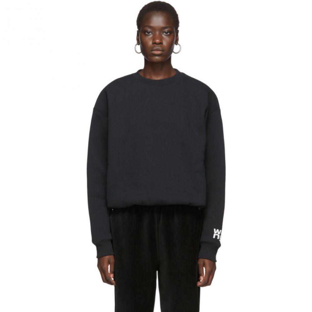 アレキサンダー ワン alexanderwang.t レディース スウェット・トレーナー トップス【Black Fleece Bubble Sweatshirt】