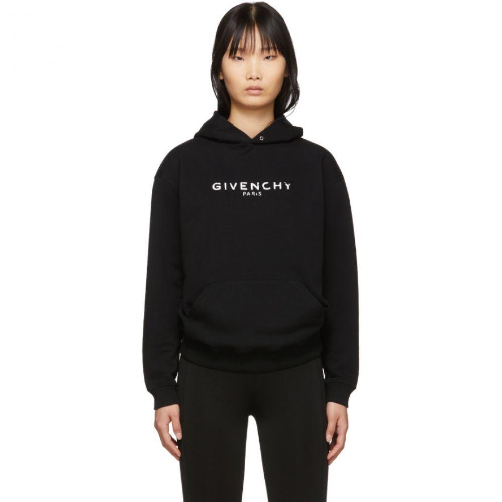 ジバンシー レディース トップス パーカー 【サイズ交換無料】 ジバンシー Givenchy レディース パーカー トップス【Black Vintage Hoodie】