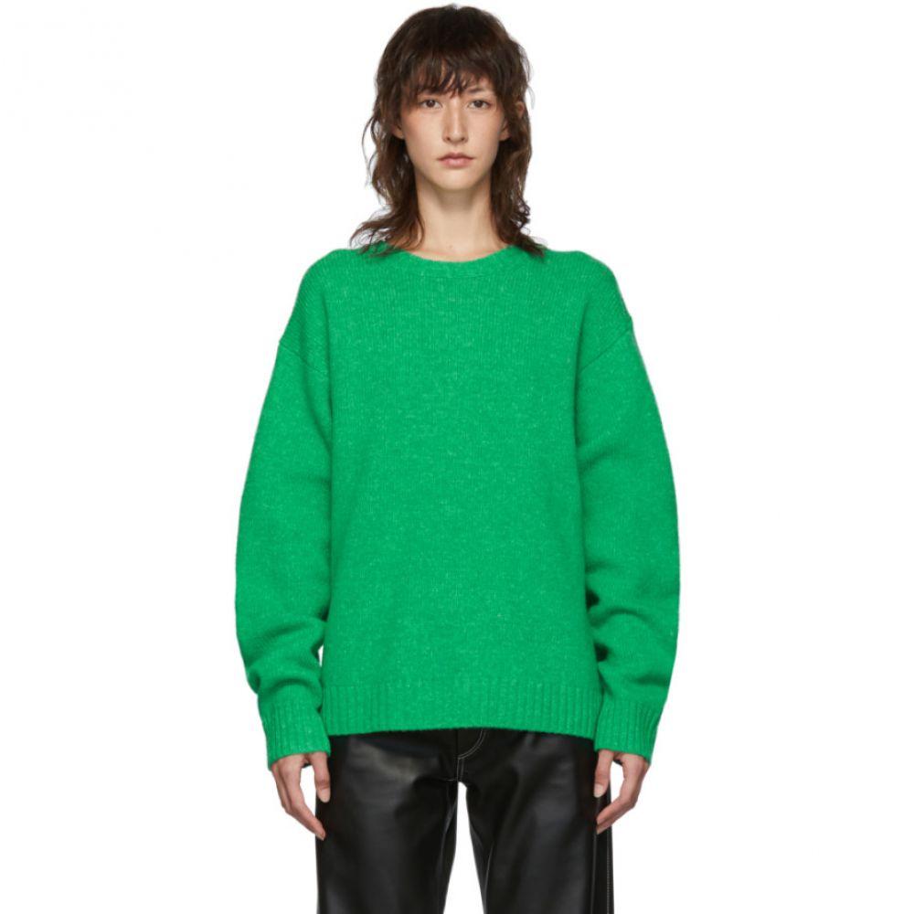 アクネ ストゥディオズ Acne Studios レディース ニット・セーター トップス【Green Wool Samara Sweater】
