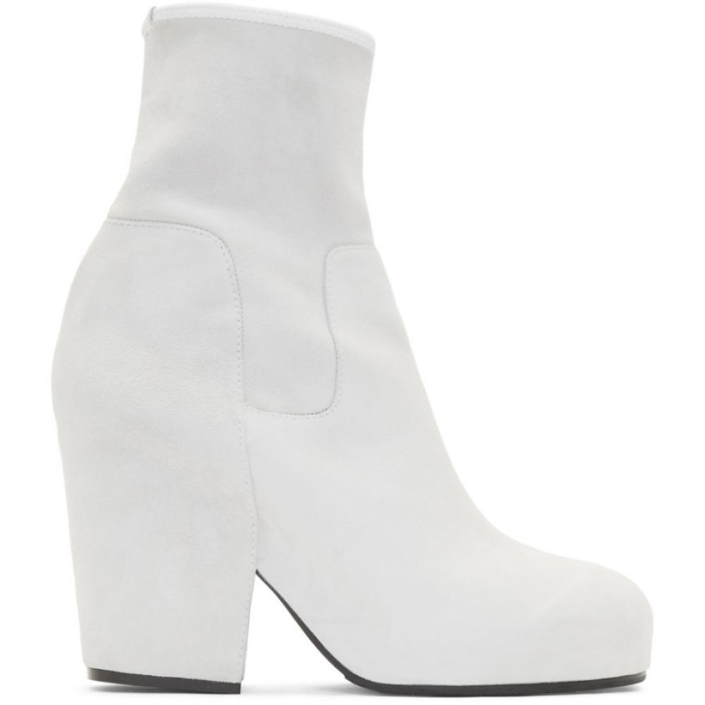 ランダム アイデンティティーズ Random Identities レディース ブーツ シューズ・靴【White Suede BO3 Boots】