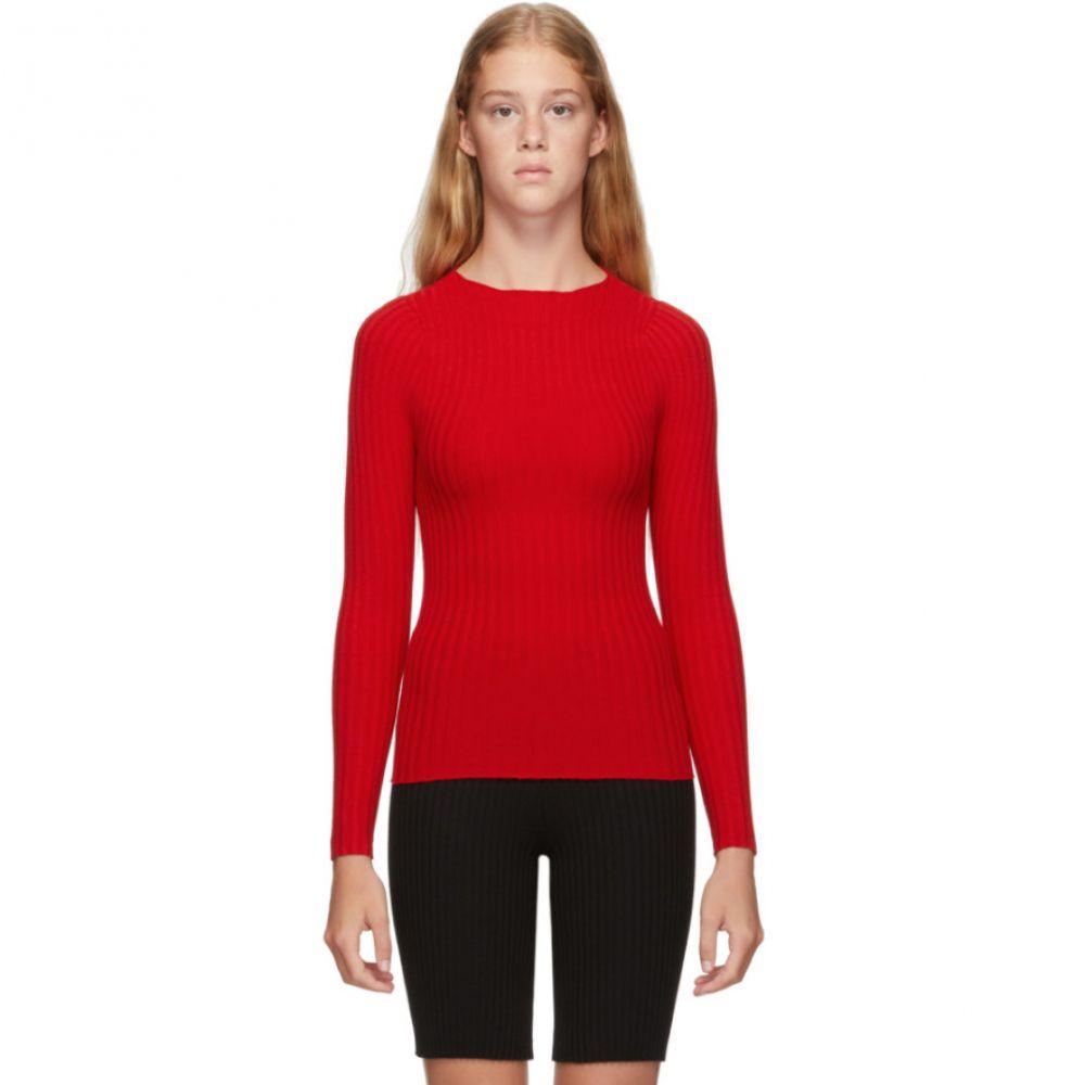 ジュウジュウ giu giu レディース ニット・セーター トップス【Red Nonna Jewel Sweater】