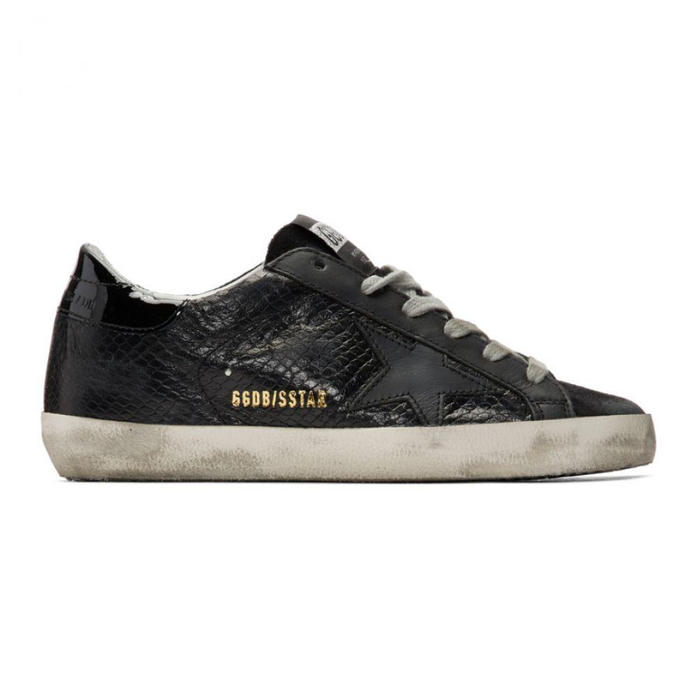 ゴールデン グース Golden Goose レディース スニーカー シューズ・靴【Black Snake Superstar Sneakers】