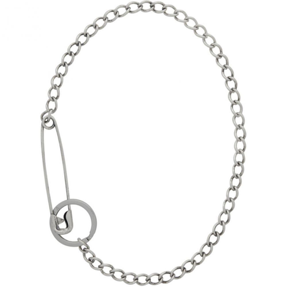 マーティンアリ メンズ ジュエリー・アクセサリー ネックレス 【サイズ交換無料】 マーティンアリ Martine Ali メンズ ネックレス ジュエリー・アクセサリー【Silver Pin Necklace】
