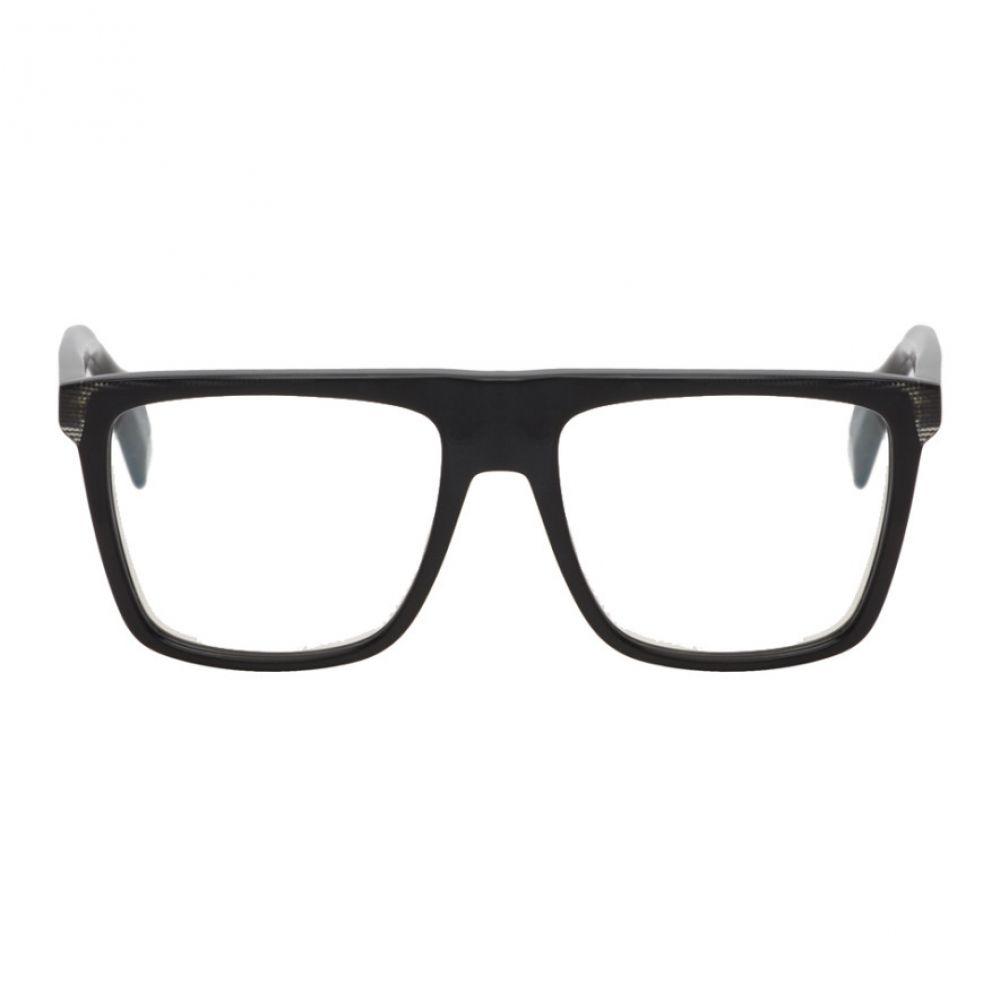 ヨウジヤマモト Yohji Yamamoto メンズ メガネ・サングラス 【Black YY1036 Glasses】