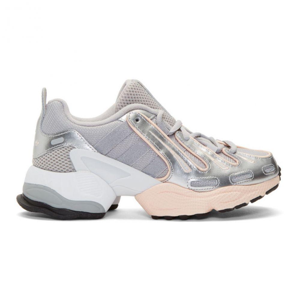 アディダス adidas Originals レディース スニーカー シューズ・靴【Grey EQT Gazelle Sneakers】