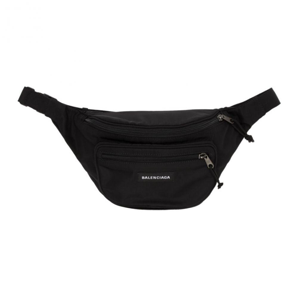 バレンシアガ Balenciaga メンズ ボディバッグ・ウエストポーチ バッグ【Black Explorer Belt Bag】
