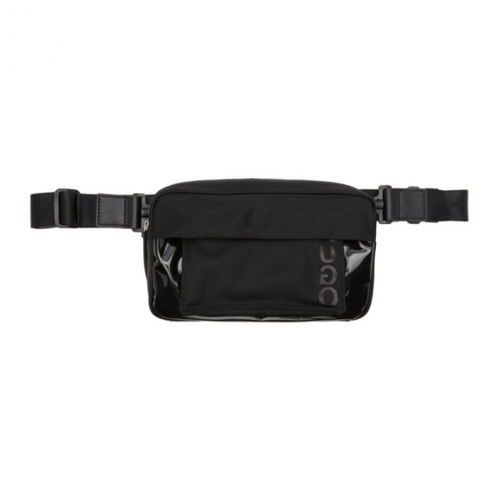 ヒューゴ ボス メンズ バッグ ボディバッグ・ウエストポーチ 【サイズ交換無料】 ヒューゴ ボス Hugo メンズ ボディバッグ・ウエストポーチ バッグ【Black Urban B Waist Bag】
