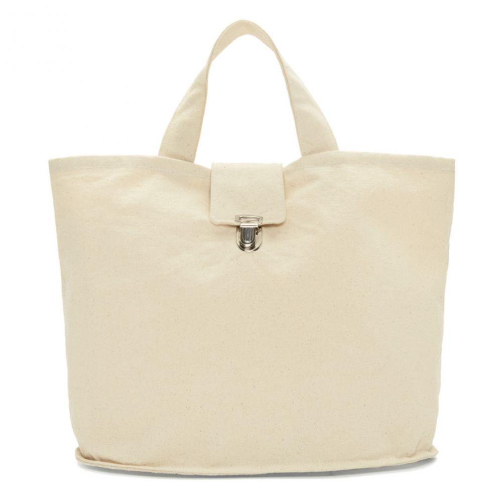 カミエル フォートへンス Camiel Fortgens メンズ トートバッグ バケットバッグ バッグ【Off-White Canvas Bucket Bag】