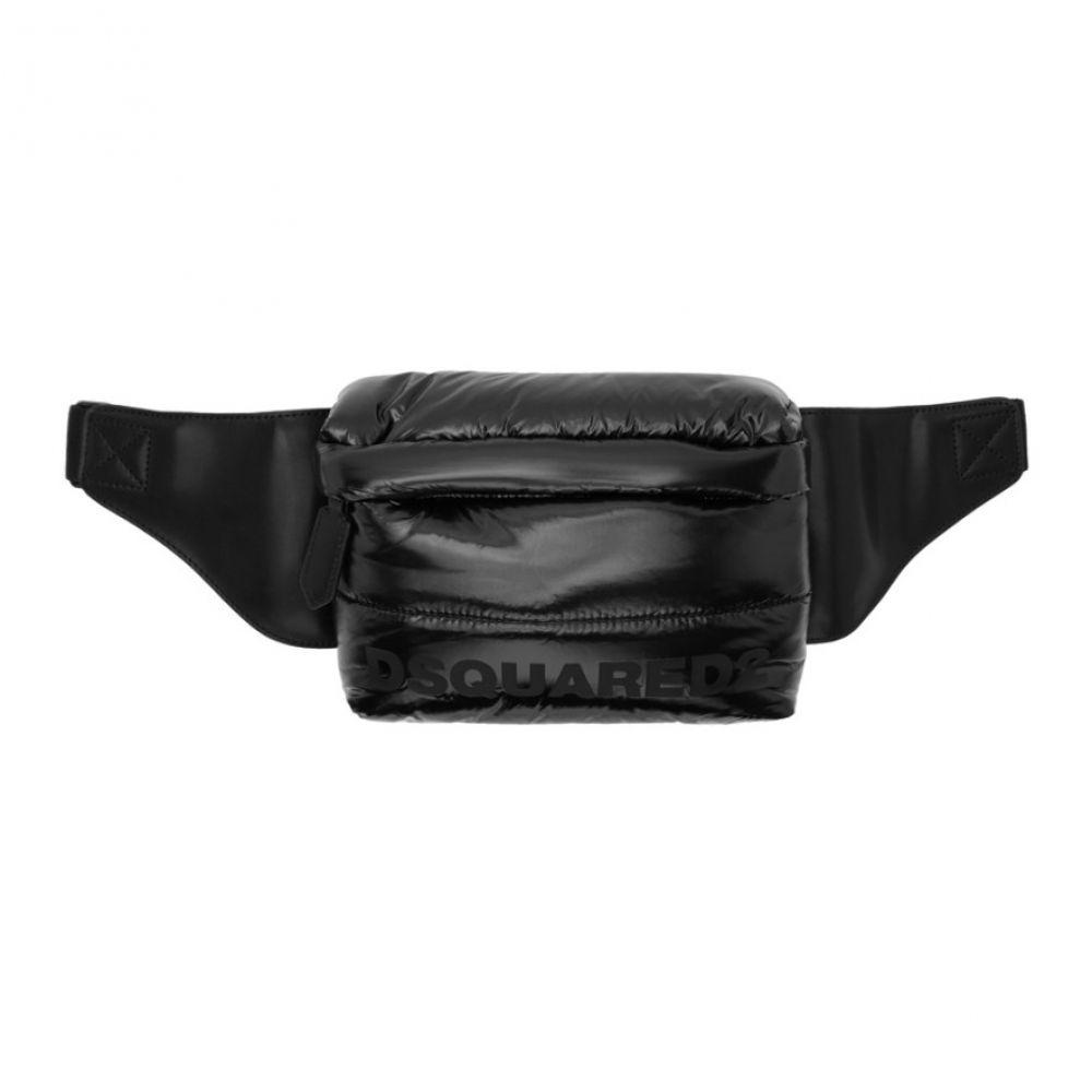 ディースクエアード メンズ バッグ ボディバッグ・ウエストポーチ 【サイズ交換無料】 ディースクエアード Dsquared2 メンズ ボディバッグ・ウエストポーチ バッグ【Black Padded Mountain Ski Bum Bag】