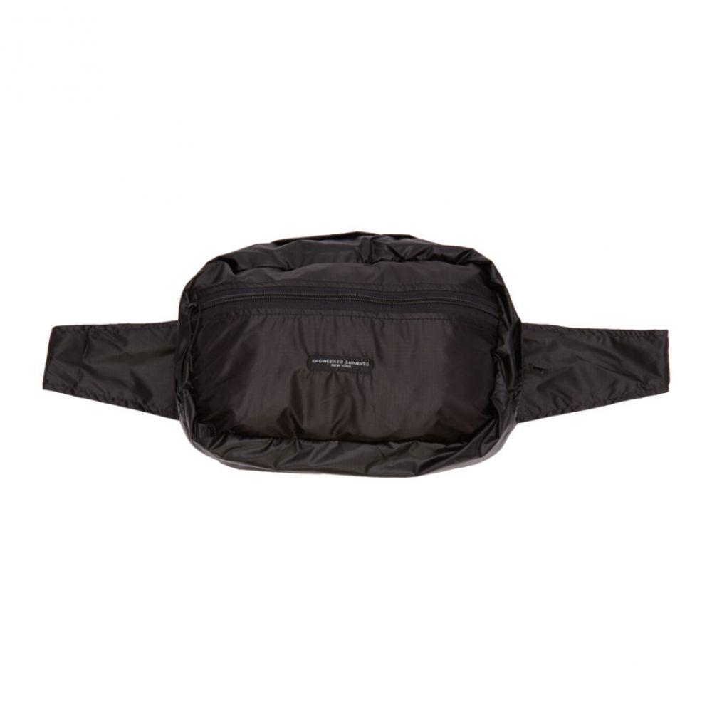 エンジニアードガーメンツ Engineered Garments メンズ ボディバッグ・ウエストポーチ バッグ【Black UL Waist Pack】