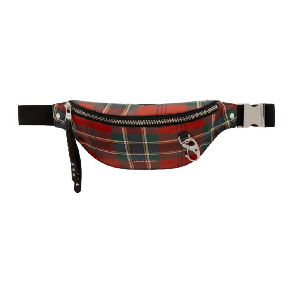アレキサンダー マックイーン Alexander McQueen メンズ ボディバッグ・ウエストポーチ バッグ【Red Harness Bum Bag】