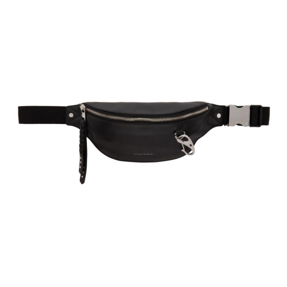 アレキサンダー マックイーン Alexander McQueen メンズ ボディバッグ・ウエストポーチ バッグ【Black Harness Bum Bag】