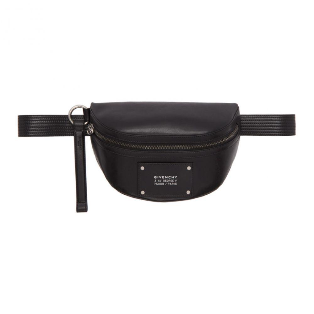 ジバンシー Givenchy メンズ ボディバッグ・ウエストポーチ バッグ【Black Tag Bum Bag】