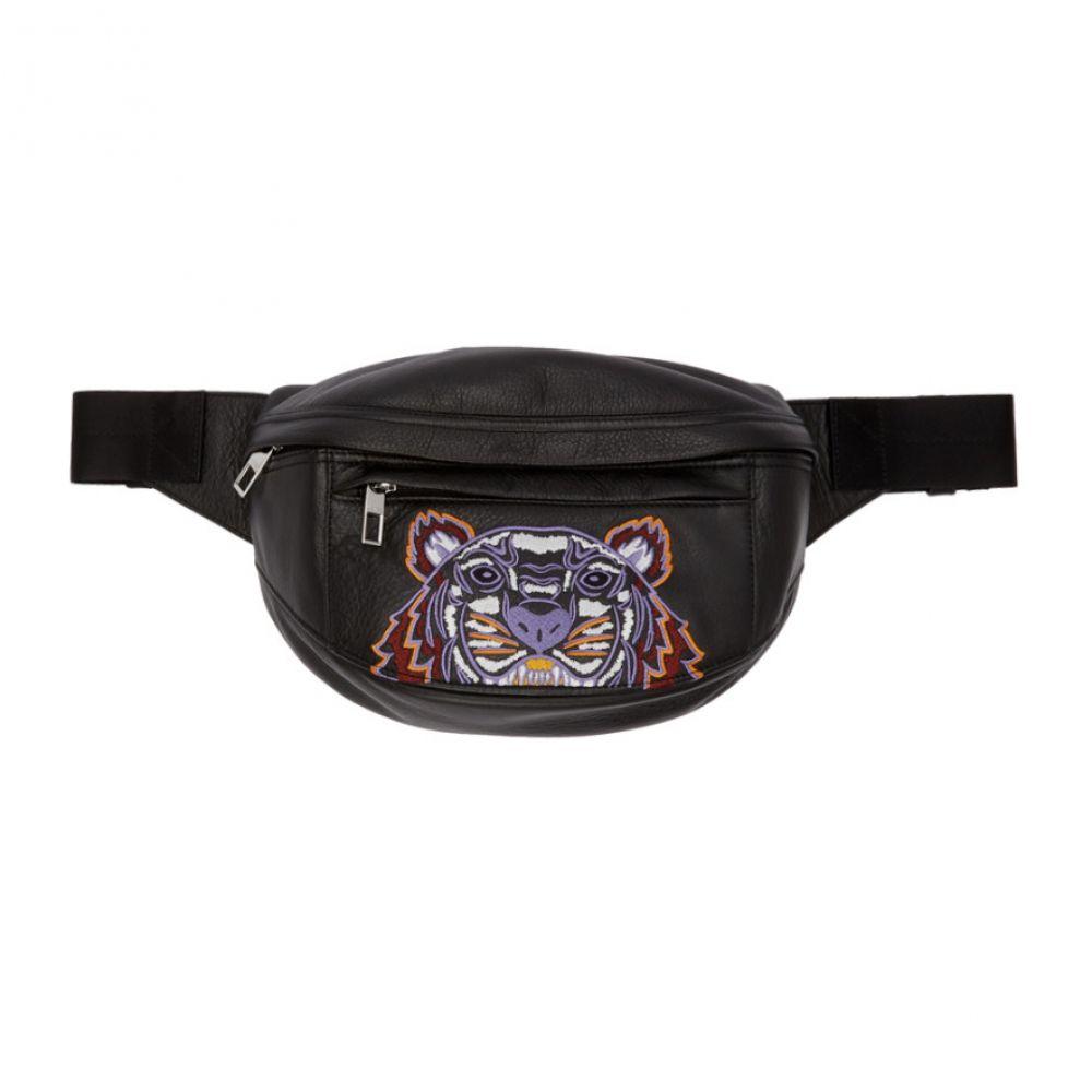 ケンゾー Kenzo メンズ ボディバッグ・ウエストポーチ バッグ【Black Kampus Tiger Belt Bag】