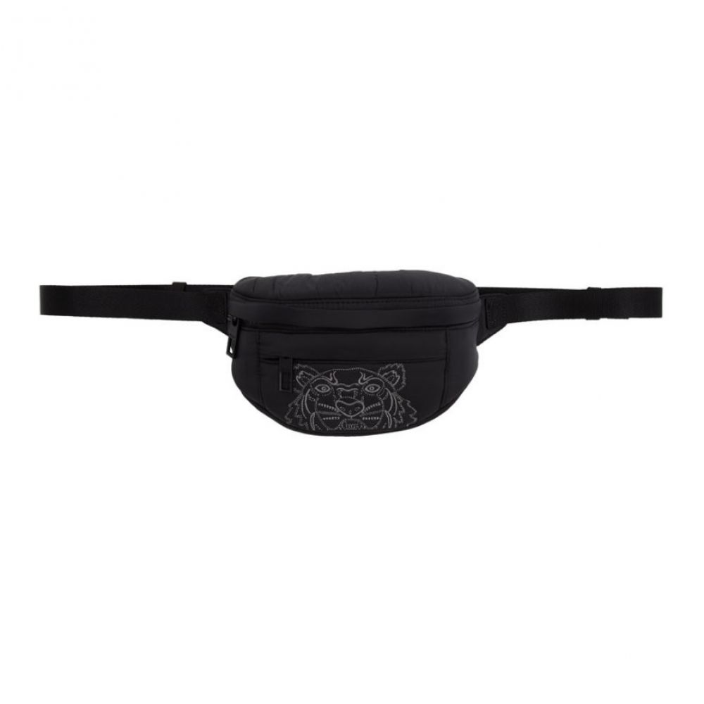 ケンゾー Kenzo メンズ ボディバッグ・ウエストポーチ バッグ【Black Nylon Mini Bum Bag】