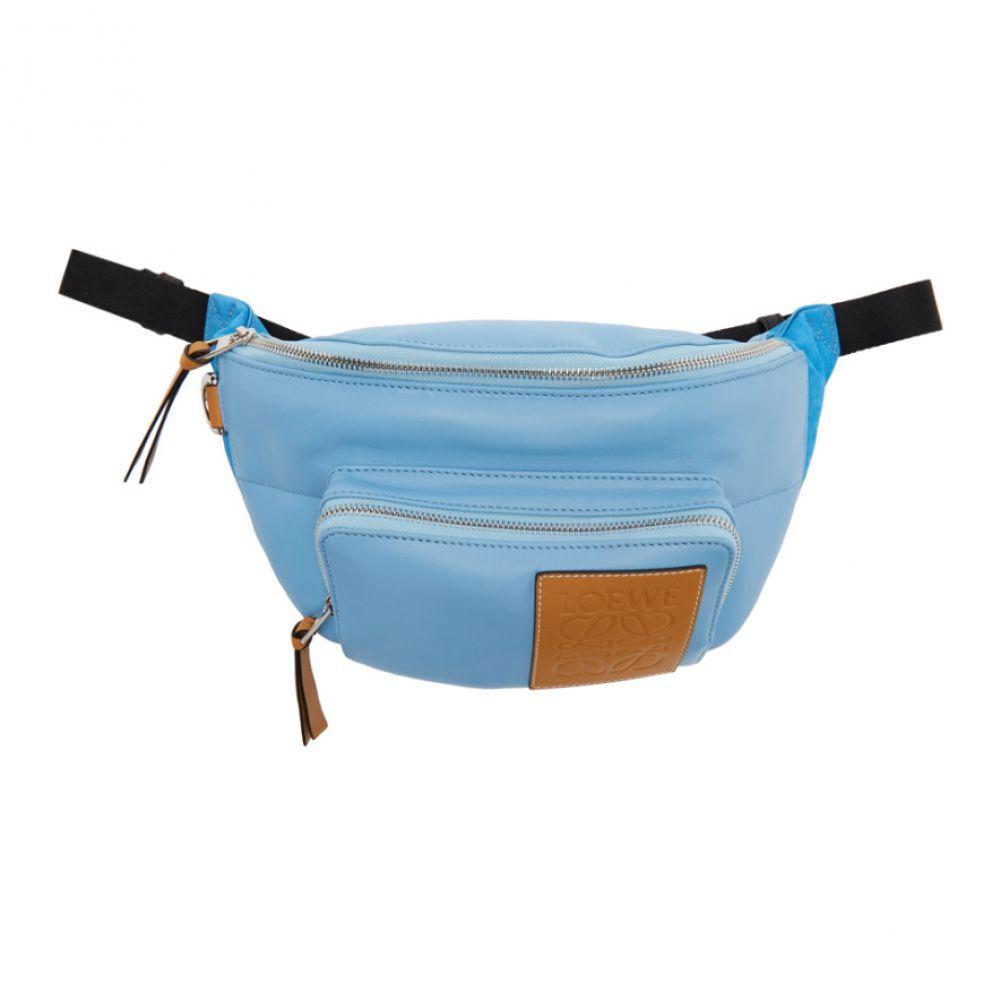ロエベ Loewe メンズ ボディバッグ・ウエストポーチ バッグ【Blue Puffy Bum Bag】